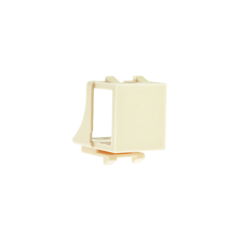 Blank Keystone Jack (Almond) - Blank Insert for Keystone Wall Plate - 25 Pack (Part# 51J-00-AL-25PK ) 25 Pack