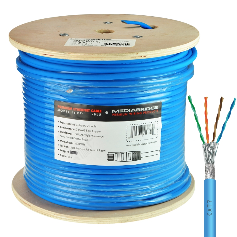 Cat7 Ethernet Cable (1000 Feet) (1000 Feet)