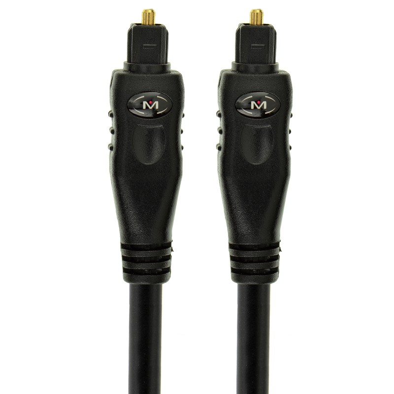 Toslink Cable - Optical Digital Audio Cable (10 Feet)