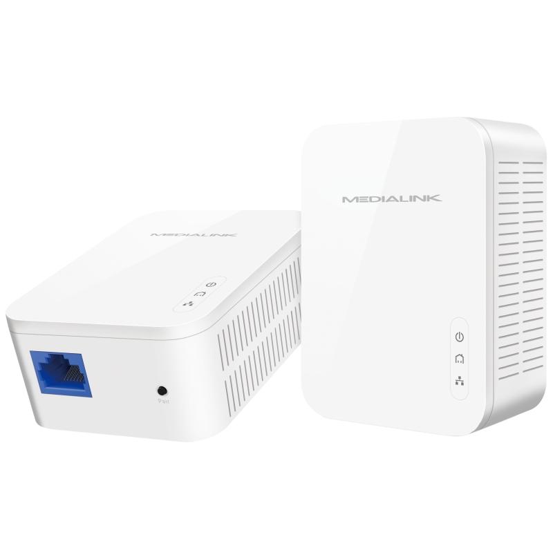 Medialink Gigabit Powerline Adapter Kit 2 Pack