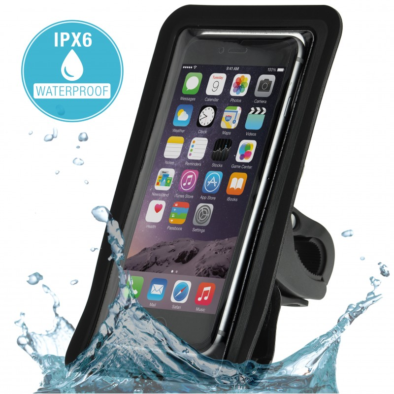 Smartphone Pouch with Bike Mount - IPX6 Waterproof Touch-Through Pouch (Part# PC3BM3 )