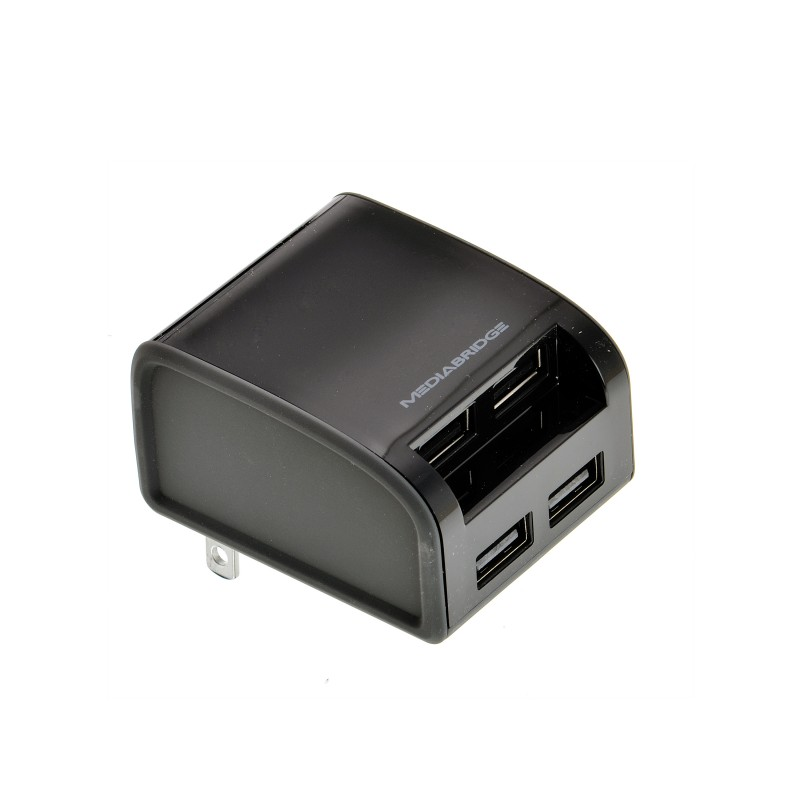 4-Port USB Wall Charger - 24 Watt / 4.8 Amp